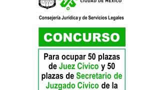 EMITE CONSEJERÍA JURÍDICA CONVOCATORIA PARA 50 NUEVOS JUECES CÍVICOS